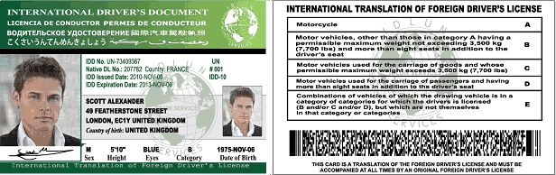 foreign drivers license in connecticut